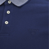 GANT Rugger Men's Striped Collar Jersey Polo Shirt - Shadow Blue: Image 3