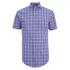 GANT Men's Albatross Cotton Linen Short Sleeve Shirt - Pale Pansy: Image 1