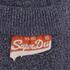 Superdry Men's Orange Label Tri Grit Sweat Shorts - Navy: Image 4