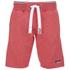 Superdry Men's Orange Label Tri Grit Sweat Shorts - Red Slub: Image 1