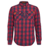 Superdry Men's Rookie Flannel Shirt - Red: Image 1