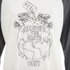OBEY Clothing Women's Recover The Earther Raglan 3/4 Length T-Shirt - Cream/Graphite: Image 3