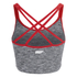 Womens Gym Top - Grey: Image 2