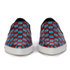 Marc Jacobs Women's Delancey Sequins Embroidered Slip-On Trainers - Aqua/Red: Image 4