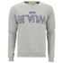 Scotch & Soda Men's Blauw Logo Sweatshirt - Grey: Image 1