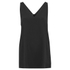 Alexander Wang Women's Sleeveless V-Neck Tunic Top with Zipper Detail - Onyx: Image 1