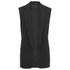 Alexander Wang Women's Straight Fit Vest with Cut Away Front - Onyx: Image 1