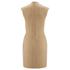 Carven Women's Poppers Shift Dress - Beige: Image 2
