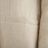 Carven Women's Linen Coat - Beige: Image 5