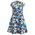 Carven Women's Floral Mini Dress - Multi: Image 1