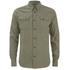 Nudie Jeans Men's Gunnar Long Sleeve Shirt - Olive: Image 1