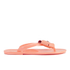 Ted Baker Women's Ettiea Jelly Bow Flip Flops - Light Orange: Image 2