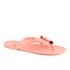 Ted Baker Women's Ettiea Jelly Bow Flip Flops - Light Orange: Image 5