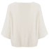 Helmut Lang Women's Scooped Neck Wide Sleeve Top - White: Image 2