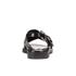 KENZO Women's Kruise Buckle Leather Sandals - Black: Image 3
