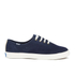 Keds Women's Triumph Sport Perforated Suede Trainers - Navy: Image 1