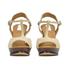 See by Chloe Women's Suede Platform T Bar Heeled Sandals - Beige: Image 4