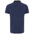 Luke Men's 2 Bob Note Mixed Fabric Polo Shirt - Dusk: Image 2