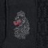 Luke Men's O'Byrne Computer Crew Neck Knitted Jumper - Black: Image 3