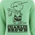 TSPTR Men's Charlie Brown Crew Neck Sweatshirt - Green: Image 3