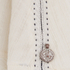 Maison Scotch Womens Sleeveless Top with Embroidery - White: Image 3