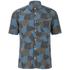 YMC Men's Spot Cloud Short Sleeve Shirt - Blue: Image 1