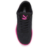Puma Women's Ignite Sock Low Top Trainers - Black/Pink: Image 3