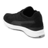 Puma Men's Running Ignite Sock Low Top Trainers - Black/White: Image 5