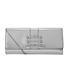 Versus Versace Women's Water Snake Clutch Bag - Silver: Image 1