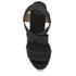 Castaner Women's Bernard Strappy Espadrille Wedged Sandals - Black: Image 3