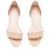 Loeffler Randall Women's Lina Scalloped Sandals - Wheat: Image 2