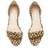Loeffler Randall Women's Lina Scalloped Sandals - Cheetah: Image 2