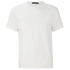 Alexander Wang Men's Raw Edge Patched Short Sleeve T-Shirt - White: Image 1