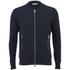 J.Lindeberg Men's Zipped Sweatshirt - Navy: Image 1