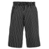 Opening Ceremony Men's Pinstripe Boxing Shorts - Black: Image 2