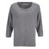 ONLY Women's Tessa Oversize Knitted Pullover - Light Grey Melange: Image 1