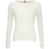 ONLY Women's Ginalu Short Pullover Knit Jumper - Cloud Dancer: Image 1
