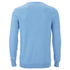 Lyle & Scott Vintage Men's Crew Neck Cotton Merino Jumper - Dusk Blue: Image 2