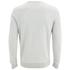 Lyle & Scott Vintage Men's Crew Neck Twill Look Sweatshirt - Light Grey Marl: Image 2