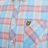 Lyle & Scott Vintage Men's Long Sleeve Check Shirt - Caribbean Sea: Image 3