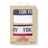 Tokyo Laundry Men's Tasmania 2 Pack Boxers - Optic White/Tokyo Red: Image 6