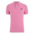 Superdry Men's Grindle Short Sleeve Pique Polo Shirt - Fluro Pink Grindle: Image 1