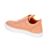 Filling Pieces Women's Stripe Quilted Low Top Leather Trainers - Orange: Image 5