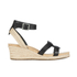 UGG Women's Maysie Wedged Sandals - Black: Image 1