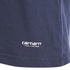 Carhartt Men's Standard Crew Neck Twin Pack T-Shirt - White/Navy: Image 3