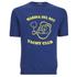 TSPTR Men's Yacht Club Short Sleeve Sweatshirt - Royal: Image 1