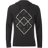 Jack & Jones Men's Core Fat Hoody - Black: Image 1