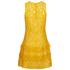 MICHAEL MICHAEL KORS Women's Lace Tier Dress - Sunflower: Image 2