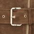 MICHAEL MICHAEL KORS Women's Belted Suede Jacket - Caramel: Image 4