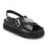 McQ Alexander McQueen Women's Stoke Bullet Sandals - Black: Image 2